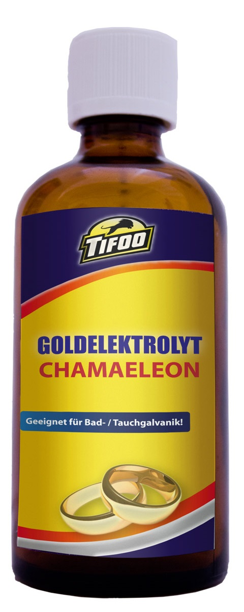 Gold tank plating solution