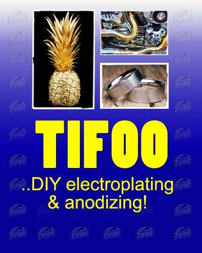 Tifoo kits for electroplatinganodizingcold bluing gold testing tifoo electroplating and surface treatment supplies gold plating kit electroless nickel plating solutioingenieria Gallery