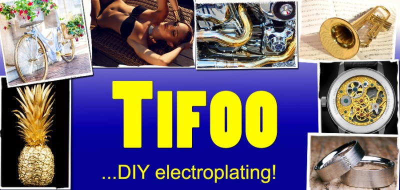 Tifoo -Kits for Electroplating,Anodizing,Cold bluing & Gold