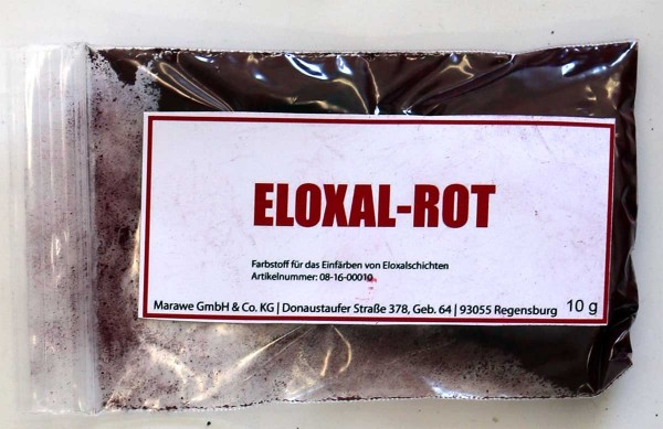 eloxal rot anodize color