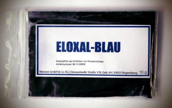 eloxal blau