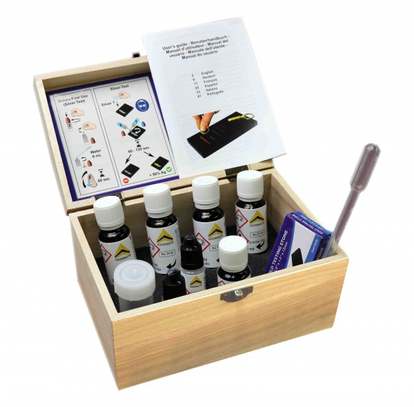 Gold Silver And Platinum Testing Kit