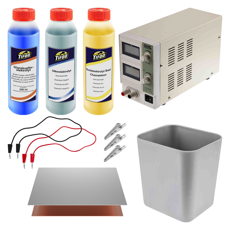 Electroplating plastic, wood & glass - Tifoo products