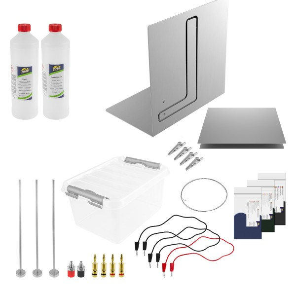 Anodising kit Deluxe Tifoo - DIY and homemade anodising of aluminium